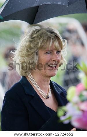 Duchess of Cornwall - stock photo