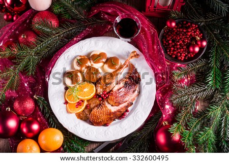 Duck breast - stock photo