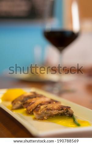Duck Tapas - stock photo