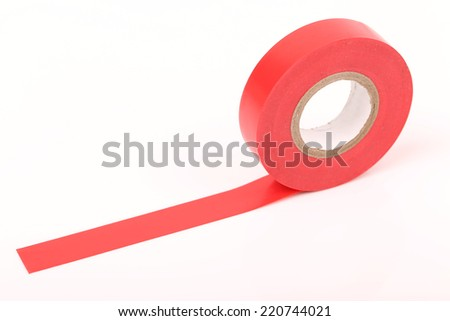 Duct tape roll   repair reel isolated