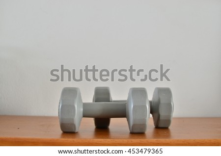 Dumbbells Gray
