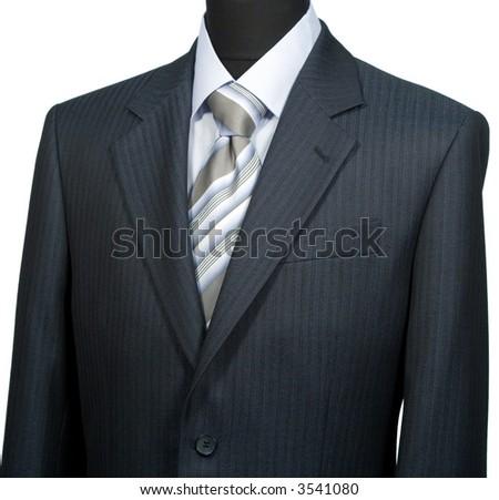 Dummy, isolated on white - stock photo