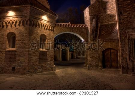 Dumpling Gate - Wroclaw - stock photo