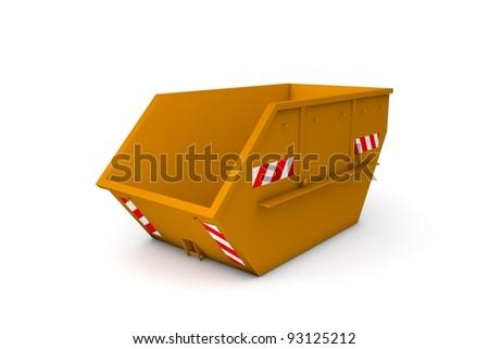 Dumpster - stock photo