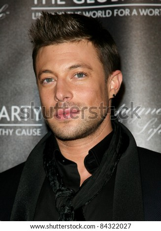Duncan James from Blue arriving for The Global Launch Party, at the Natural History Museum, London. 09/08/2011 Picture By: Alexandra Glen / Featureflash