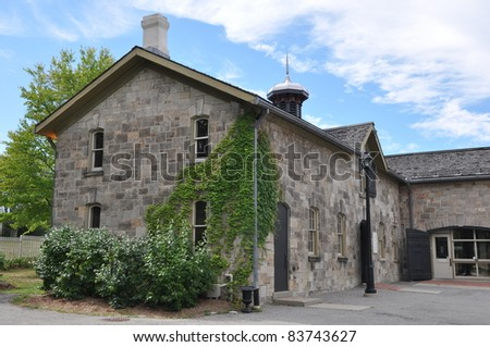 Dundurn Castle in Hamilton, Ontario in Canada - stock photo
