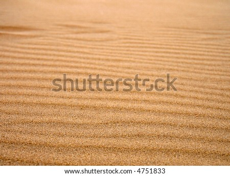 dune sand anywhere of World - stock photo