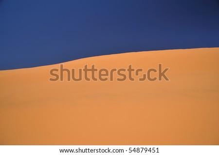 dunes of the Namib Desert - stock photo