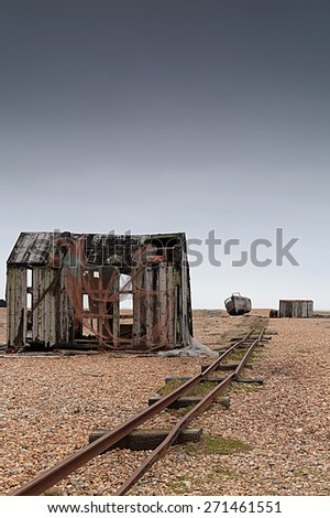 DUNGENESS - stock photo