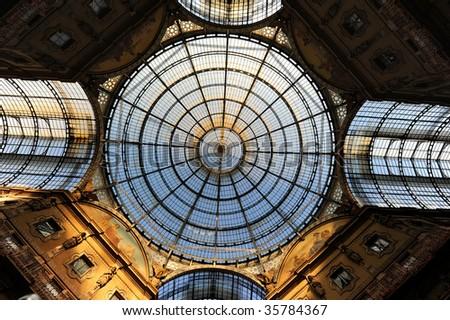 Duomo architectural pattern - stock photo