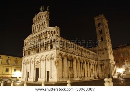 Duomo di Lucca - stock photo