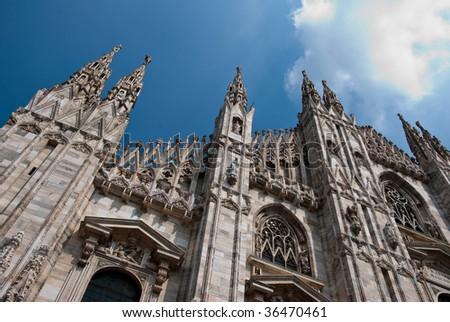 Duomo Milan - stock photo
