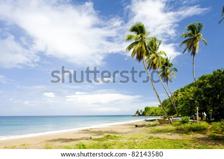 Duquesne Bay, Grenada - stock photo