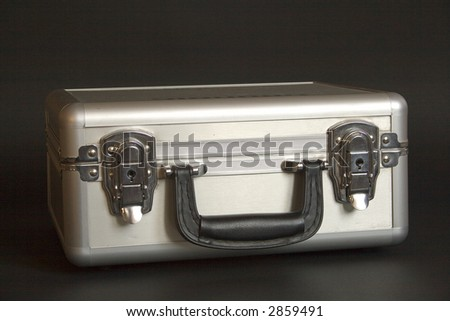 Durable case with lockers - stock photo