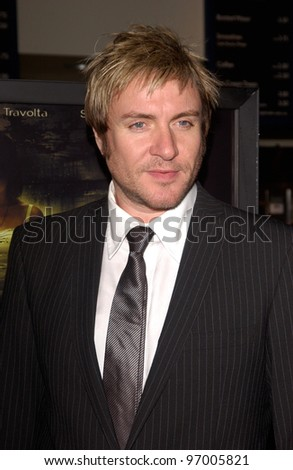 Duran Duran star SIMON LE BON at the Hollywood Film Festival premiere of A Love Song for Bobby Long. October 17, 2004