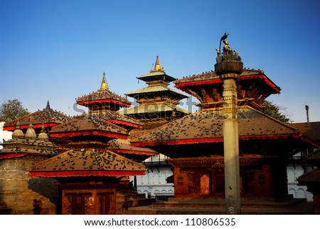 Durbar Square of Kathmandu, Nepal - stock photo