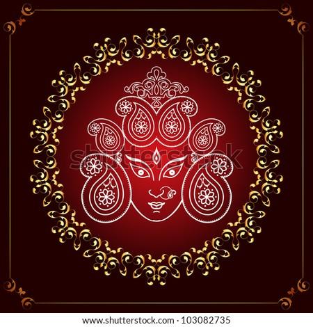 Durga - stock photo