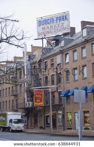 Durgin Park Market Dining Rooms In Boston   BOSTON / MASSACHUSETTS   APRIL  3, 2017 Part 33