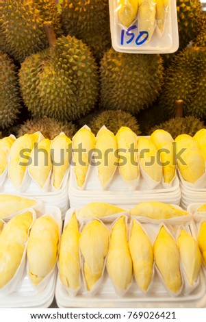Durians -  king of fruits