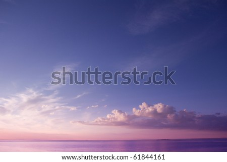 Dusk of Dawn - stock photo