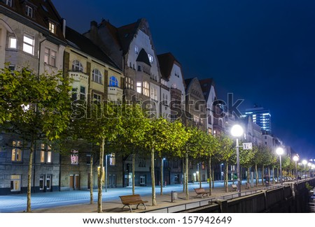 Dusseldorf,Germany - stock photo