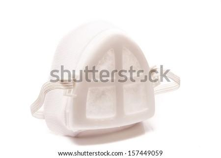 dust mask - stock photo