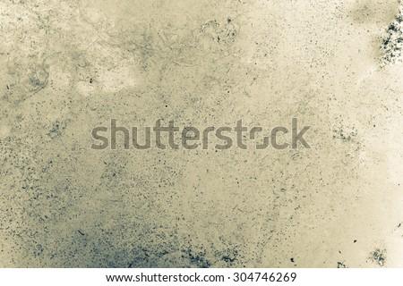 dust on mirror make grunge texture - stock photo