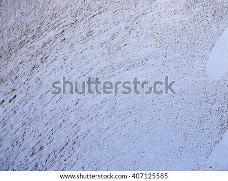 dust on plastic texture - stock photo