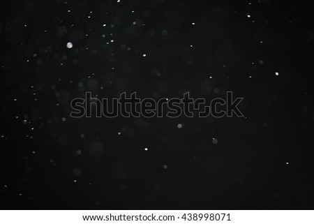 dust particles overblack background fx backdrop