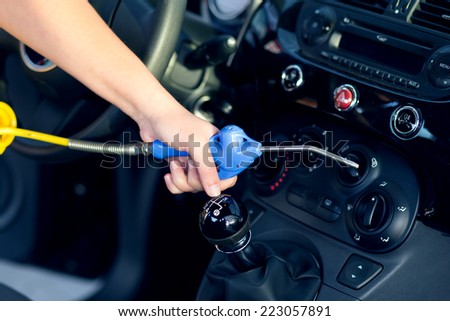 car mechanics against close man writing stock photo 421760062 shutterstock. Black Bedroom Furniture Sets. Home Design Ideas