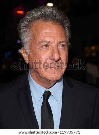 Dustin Hoffman arriving for the 56th BFI London Film Festival: Quartet - American Airlines gala held at the Odeon Leicester Square, London. 15/10/2012 Picture by: Alexandra Glen