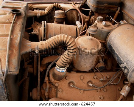 Dusty engine