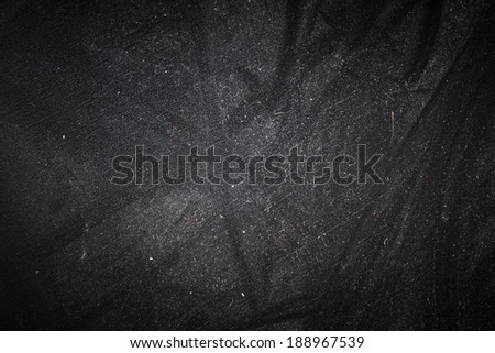 Dusty Grungy Black Surface Texture - stock photo