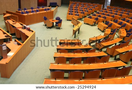 Dutch Parliament - stock photo