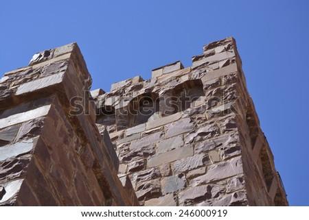 Duwisib Castle, Namibia, Africa - stock photo