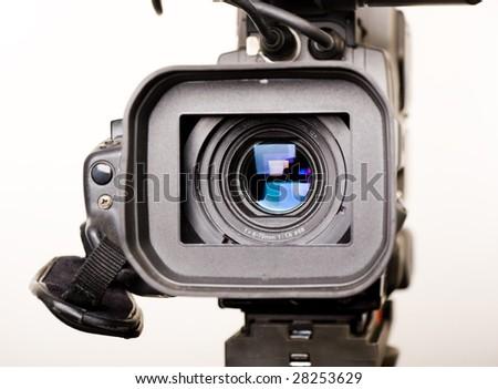 dv-cam camera - stock photo