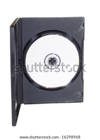 DVD - stock photo