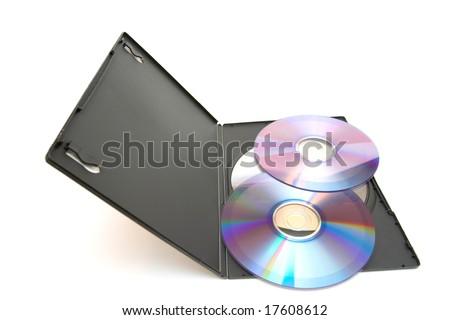 dvd disk - stock photo