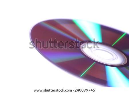 DVD-R - stock photo