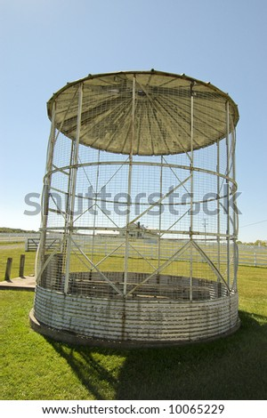 Dwight D. Eisenhower's Farm at Eisenhower National Historic Site in Gettysburg, PA - stock photo