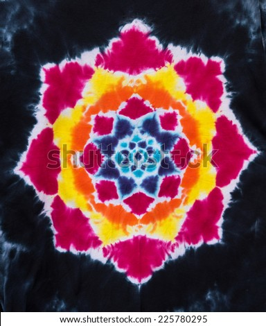 Dye Pattern Abstract - stock photo