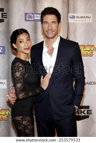 Dylan McDermott at the Spike TV's 2011 Scream Awards held at the Gibson Amphitheatre in Universal City on October 15, 2011. - stock photo