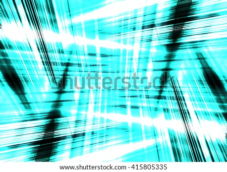 Dynamic black and blue light streaks background