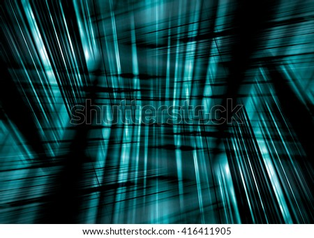 Dynamic black and blue streaked background