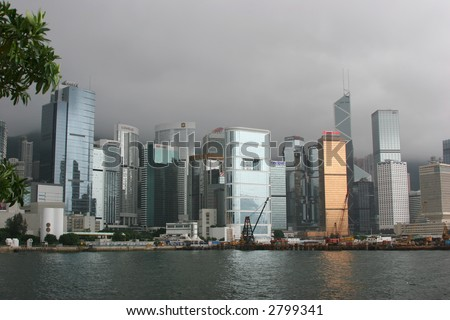 Dynamic Hong Kong Skyline