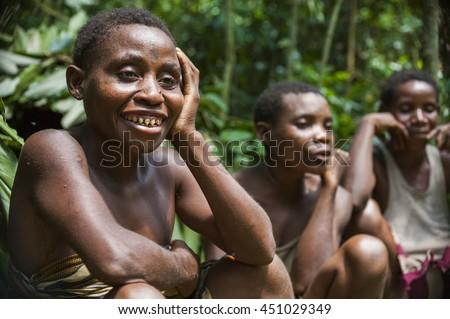 DZANGA SANGHA FOREST RESERVE CENTRAL AFRICAN REPUBLIC CAR AFRICA