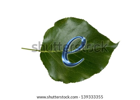 E-Commerce is Green Business. - stock photo