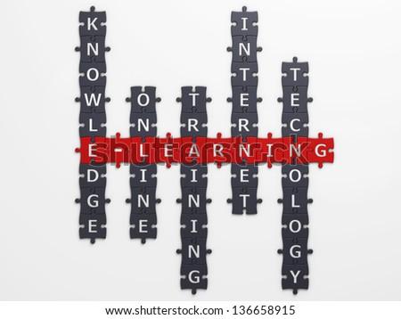 e-learning - stock photo