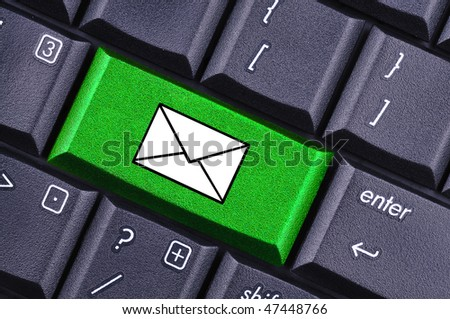 e mail - stock photo