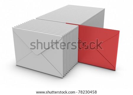 E-Mail Concept. - stock photo